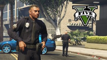 GTA 5 found the perfect place to fight off the police