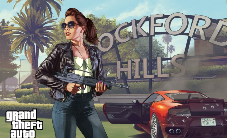 GTA 6 female character